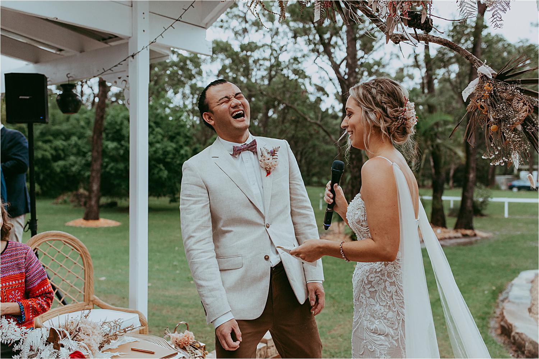 Central Coast Backyard Wedding